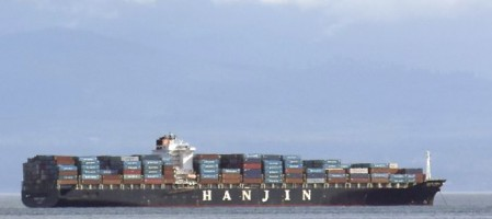 Про грузы на судах Hanjin